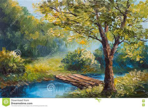 Paint A L by Paysage De Peinture 224 L Huile For 234 T Color 233 E D 233 T 233
