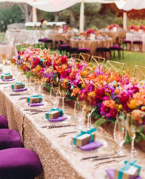 colorful wedding 25 best ideas about colorful wedding centerpieces on