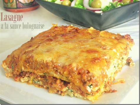 cuisine v馮騁arienne facile lasagne 224 la bolognaise recette facile le cuisine