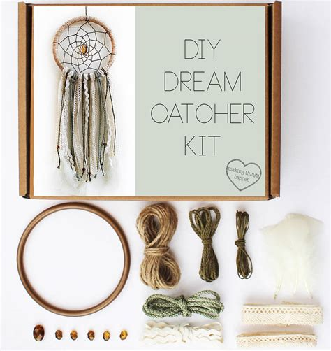 diy kits diy dream catcher kit by making things happen