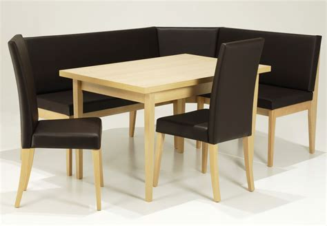 corner table and bench set linon chelsea breakfast