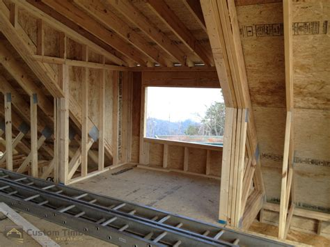 Timber Dormer Construction Bradshaw Interior Framing Custom Timber Log Homes