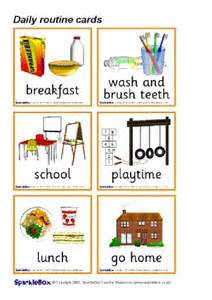 daily routine teaching resources amp printables for early
