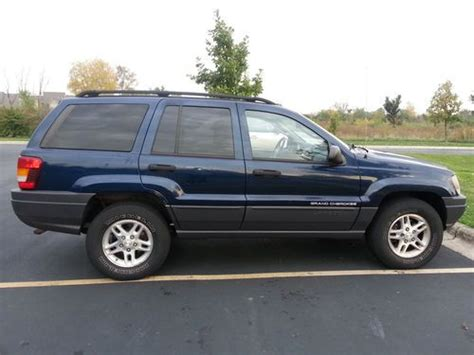 automobile air conditioning service 2003 jeep grand cherokee lane departure warning buy used 2003 jeep grand cherokee laredo sport utility 4 door 4 0l in bartlett illinois united