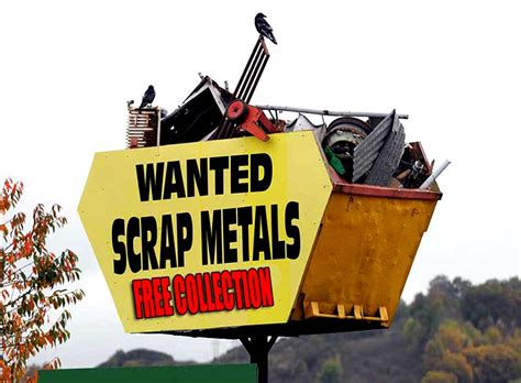 Collection Metal bristol free scrap metal collection