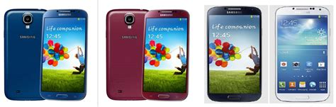 galaxy s4 colors galaxy s4 colors blue black white pink images 5311