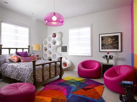 pouf chambre enfant tapis pour chambre d enfant une touche d originalit 233 et