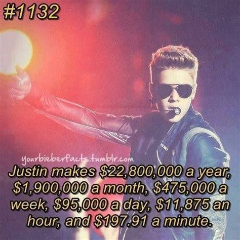 7 Facts On Justin Bieber by Justin Bieber Fact Money Search Justin Bieber