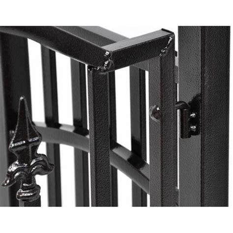 cancello da giardino arco da giardino con cancello in ferro