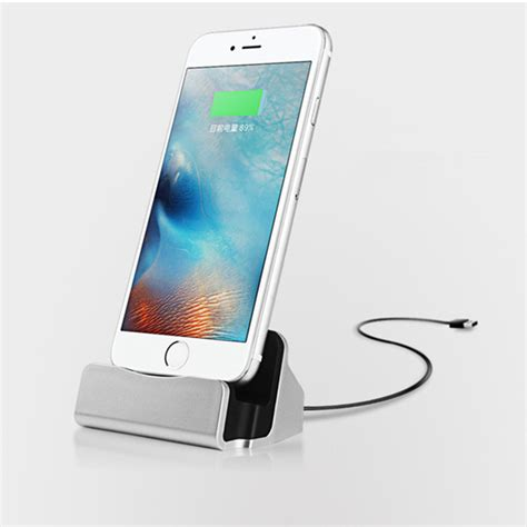 iphone 5 desktop charger desktop charger stand dock station sync charge cradle for