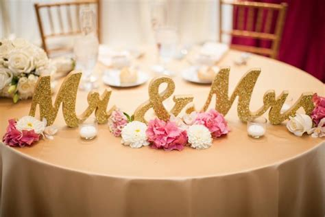 mr and mrs sign for table gold glitter mr and mrs wedding signs for table