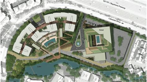 Apartment Layout Design millennium hotel revived for lakeside drive in sunnyvale