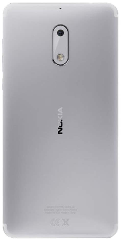 nokia 6 32gb price shop nokia 6 silver 32gb 3gb ram mobile at shop gn
