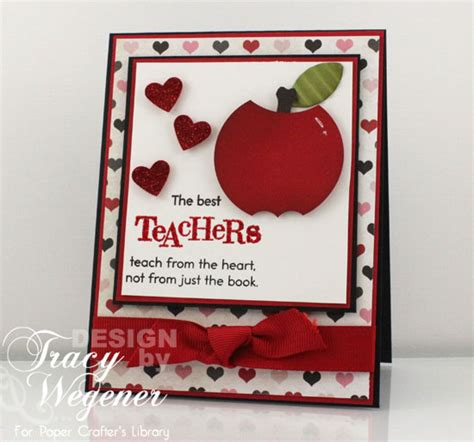 cards to make for teachers project newsletter makeover challenge best