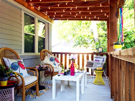 how to hang string lights on covered patio the best outdoor patio string lights patio reveal