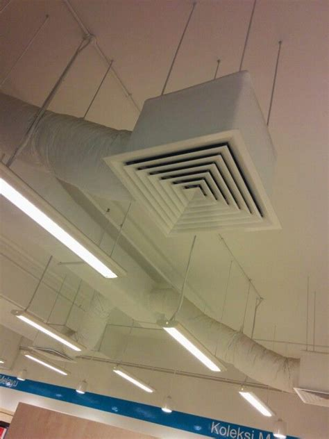 ceiling air diffusers diffuser comes with insulated ducting exposed