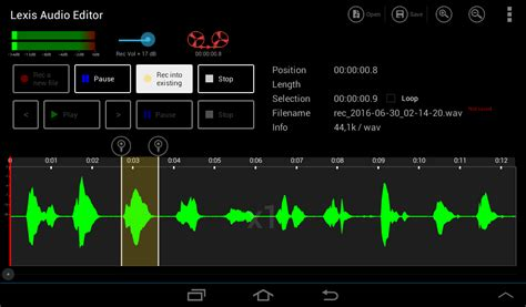 audio format supported by android record direct into an open sound file android lexis