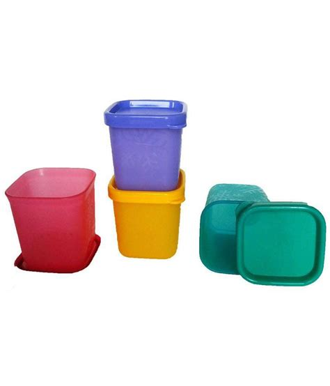 tupperware multicolour cool mini container pack of 4