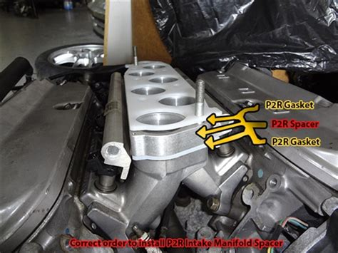 P2r J Series V6 Intake Manifold Spacer