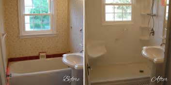 the right way to go about shower replacement bath decors