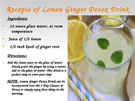 Can You Use Lemon Juice For Detox Water by Water Detoxing For Weight Loss