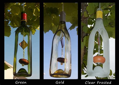 how to create your own green retro wind chime out of