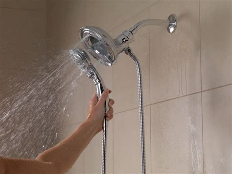 2 In 1 Shower by Faucet 58471 Pn Pk In Brilliance Polished Nickel By