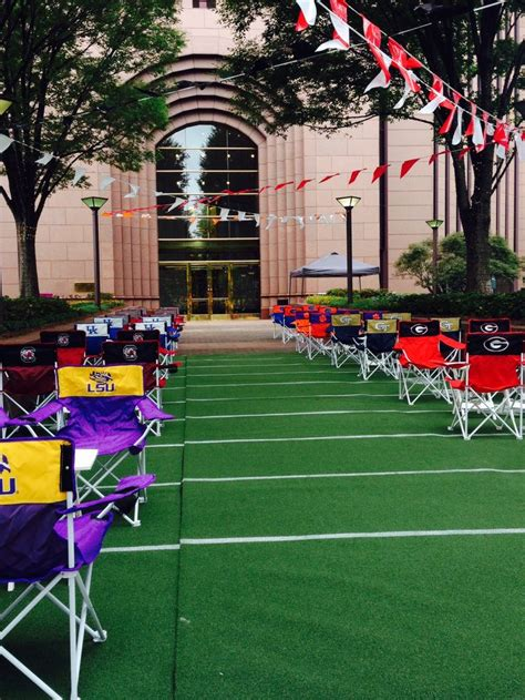 themes for management college festivals college football tailgate themed corporate event created