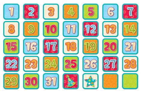 printable monthly calendar numbers free printable calendar numbers for classroom classroom