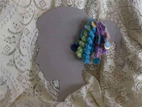 Hair Accessories Handmade - multi colored spiral curlicue handmade hair w
