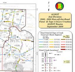 dot traffic map noteworthy practices addressing safety on locally owned
