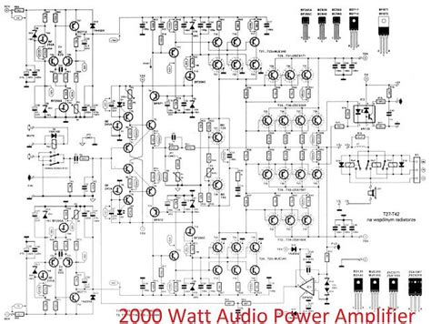 high power mosfet audio lifier circuit diagram 2000 watts power lifier schematic diagram wiring