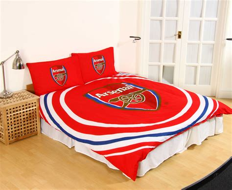 arsenal quilt new arsenal f c football club duvet quilt cover set boys