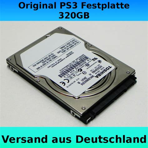 Hardisk Eksternal Ps3 320gb original playstation 3 slim 320gb festplatte toshiba ps3 hdd