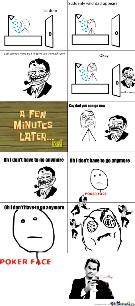 rage comic 1 by dude meme center