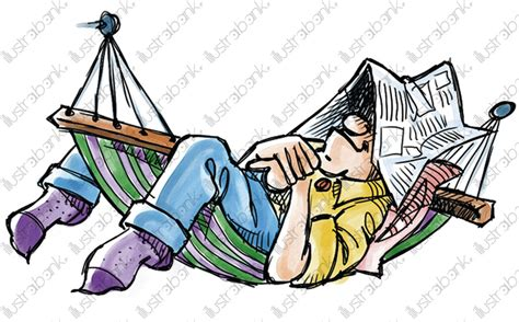 Sieste Hamac by Sieste En Hamac Illustration Libre De Droit Sur