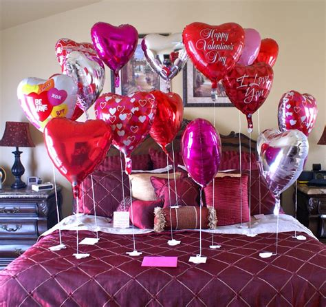 balloon bedroom decorations bedroom charming bedroom valentines day decorations ideas