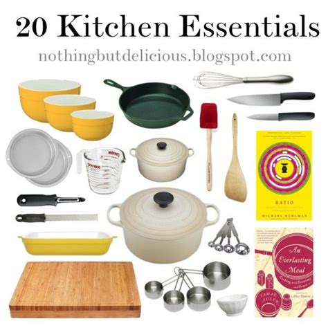 kitchen essential kitchen essentials by hmmessinger via polyvore to do