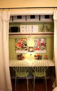 Closet Desk Ideas The Red Chair Blog Closet Office Craft Space Part 1