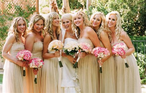 Bridesmaids Hairstyles for short & medium & long hair
