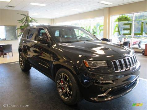 jeep cherokee black 2015 2015 brilliant black crystal pearl jeep grand cherokee srt