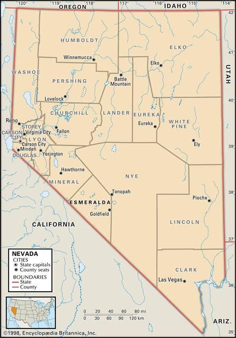 unr map state and county maps of nevada