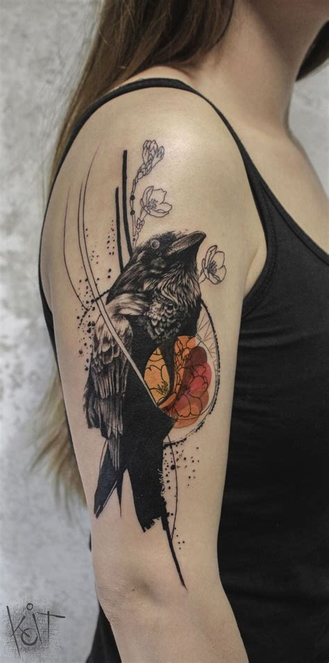 tattoo art styles koit artist from berlin black and orange graphic