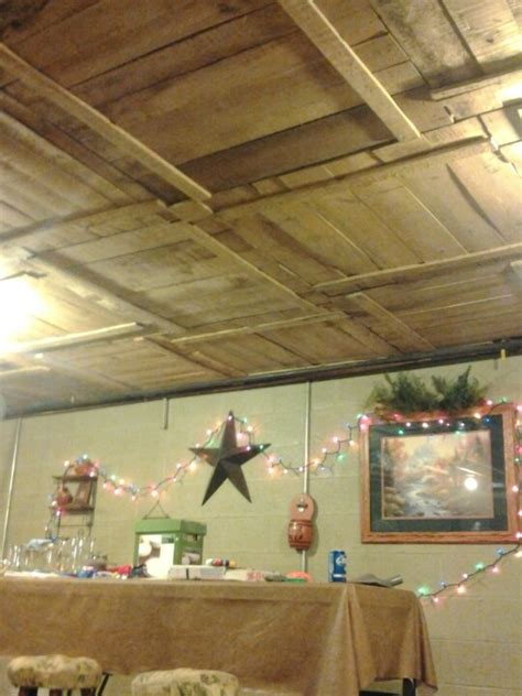 Another Pinner Said Quot Another Completed Craft - another pinner said quot our basement ceiling made from