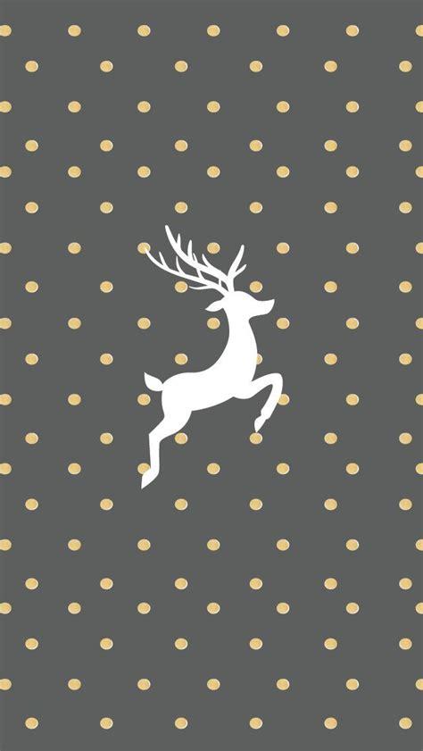 gold  grey reindeer wallpaper  iphone pictures
