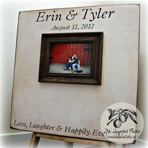 Guest Book Wedding Personalized Picture Frame 20x20