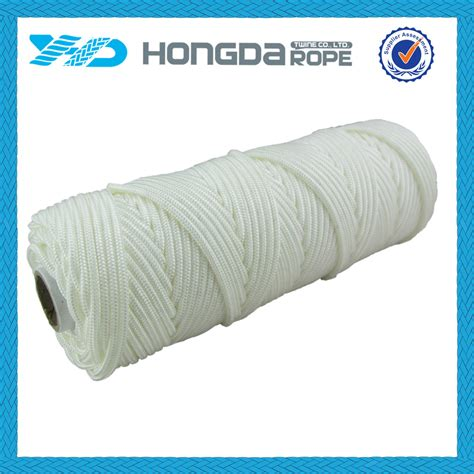 white braided nylon rope spool strand braid rope buy mm nylon braided ropeblack