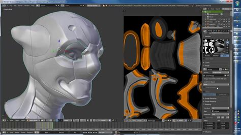 blender tutorial unwrapping uv unwrapping and texture painting in blender