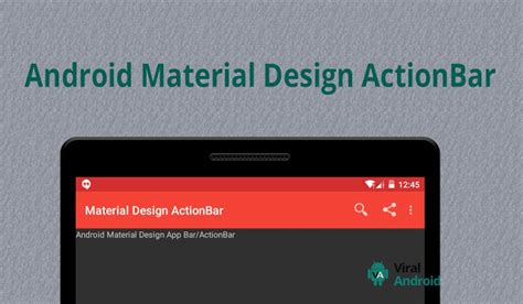 android top bar android material design actionbar app bar how to make