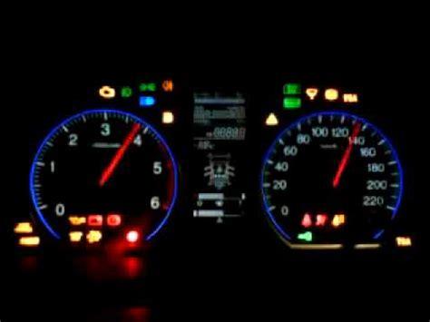 Honda Crv Warning Lights by 2009 Honda Cr V Gauges Diagnostic Youtube